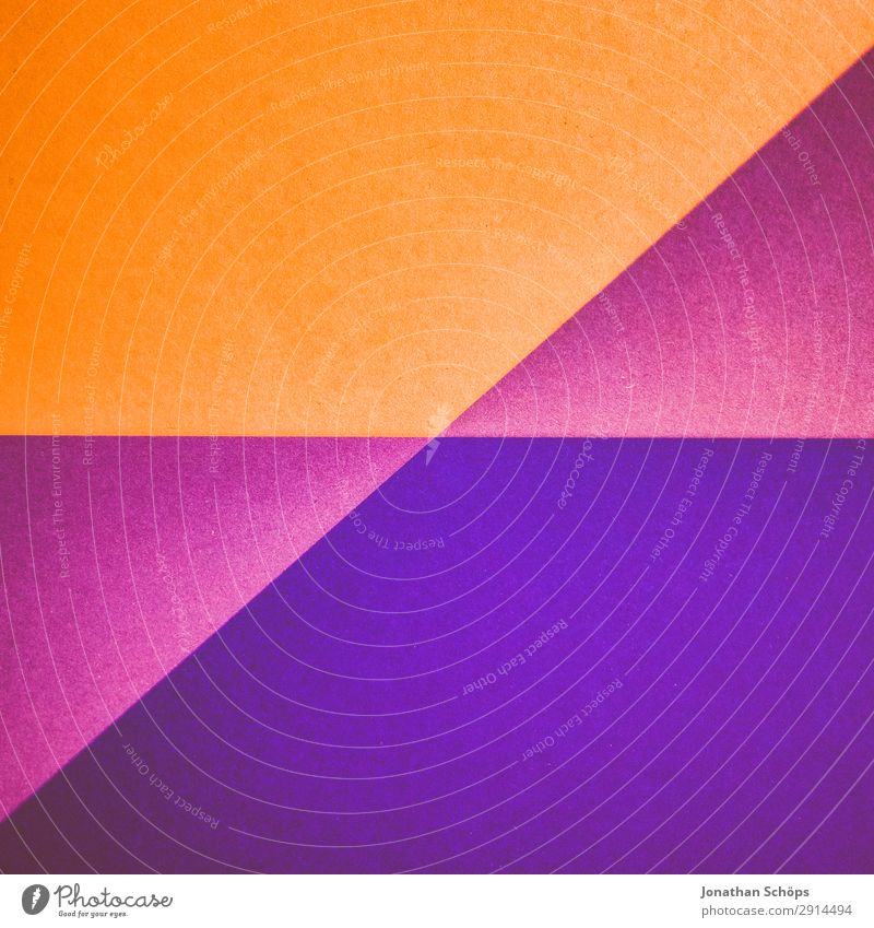 Background picture Copy Space Orange Pink Paper Simple Violet Graphic Handicraft Geometry Conceptual design Divide Cardboard Minimalistic Flat Go up