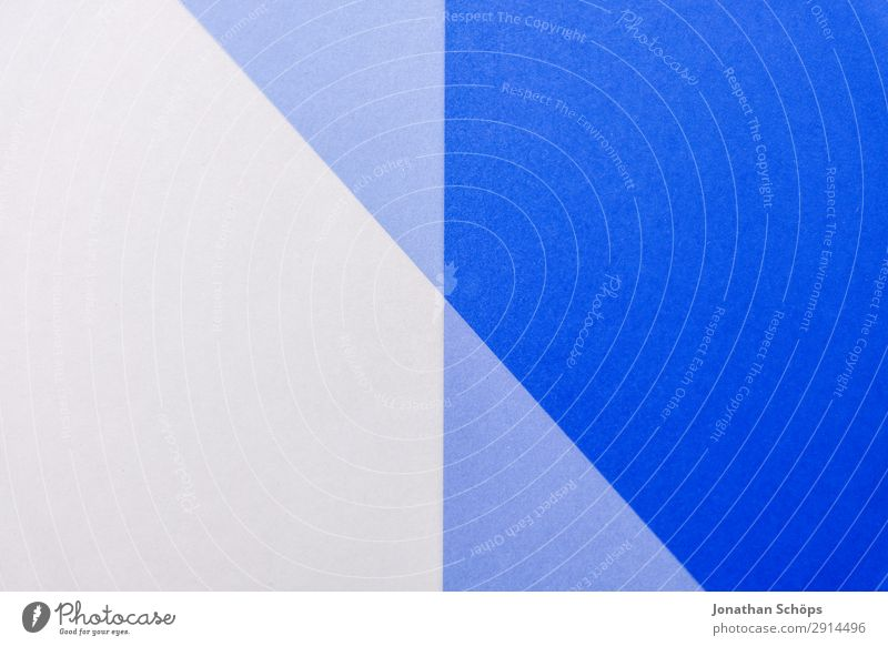 Blue White Background picture Cold Copy Space Line Paper Simple Graphic Double exposure Handicraft Geometry Conceptual design Cardboard Minimalistic Flat