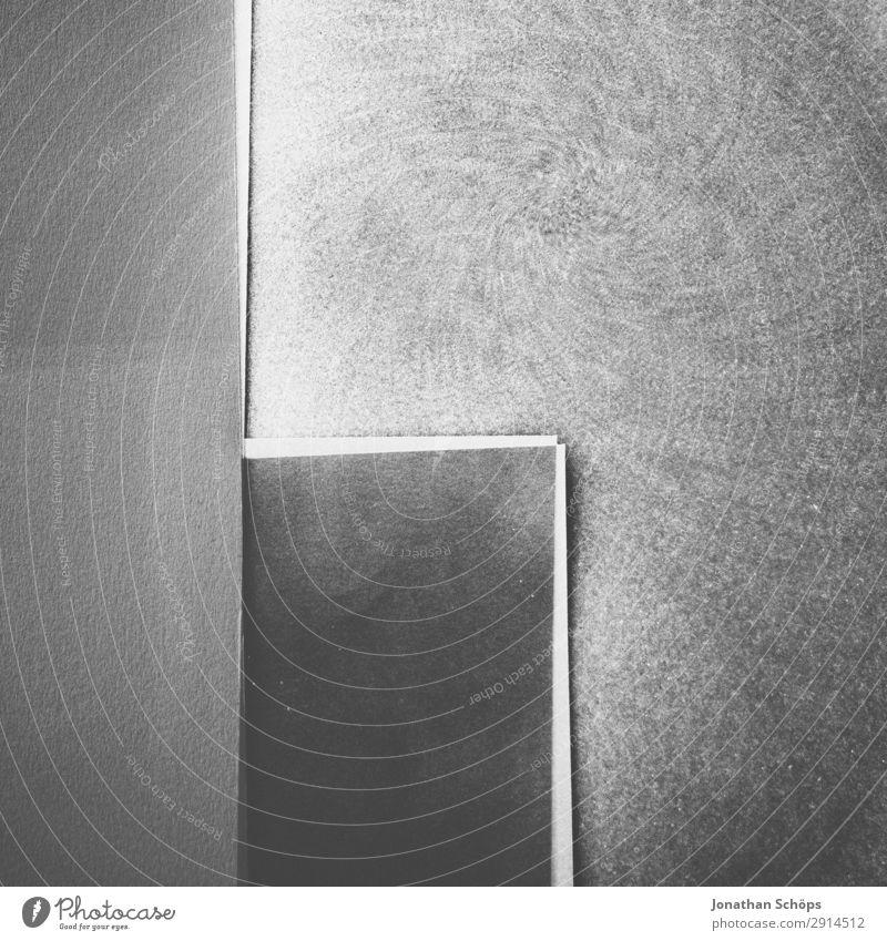 Background picture Copy Space Illuminate Paper Corner Simple Graphic Double exposure Handicraft Geometry Conceptual design Cardboard Minimalistic Flat Flashy
