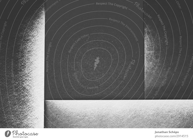 White Black Background picture Copy Space Gray Illuminate Paper Corner Simple Graphic Sharp-edged Square Handicraft Geometry Frame Conceptual design