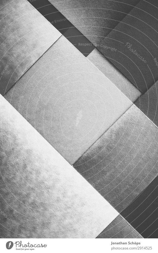 Black Background picture Copy Space Gray Illuminate Paper Simple Graphic Square Handicraft Geometry Frame Conceptual design Cardboard Minimalistic Flat
