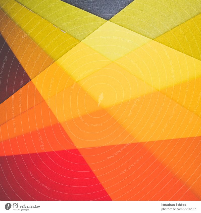 Red Background picture Yellow Copy Space Orange Paper Simple Graphic Double exposure Handicraft Geometry Conceptual design Cardboard Minimalistic Flat