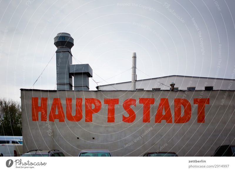 Wall (building) Berlin Germany Copy Space Wall (barrier) Characters Industry Climate Industrial Photography Capital city Typography Storage Chimney Warehouse