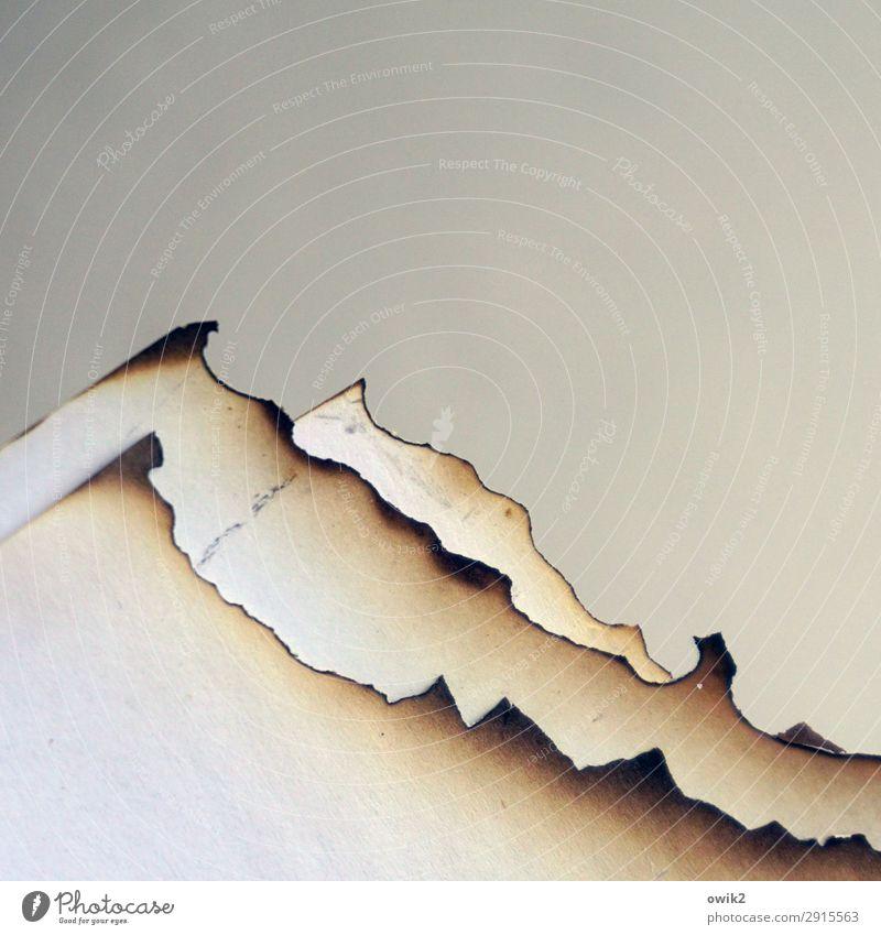sierra Work of art Paper Level 3 Burnt Edge Corner Bizarre Decline Past Destruction Soot serrated Mountain range Point Peak Artificial Torn Broken Warmth