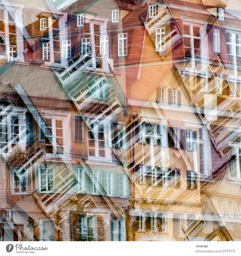 Tübingen² Lifestyle Elegant Style Art Old town House (Residential Structure) Building Architecture Facade Window Sign Living or residing Exceptional Crazy