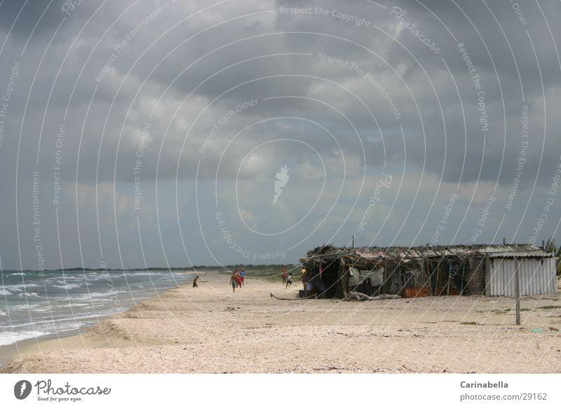 Ocean Beach Clouds Cuba Shed Venezuela