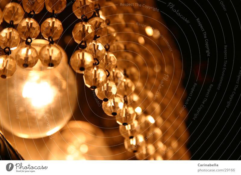Lamp Living or residing Pearl Chandelier Glass bead