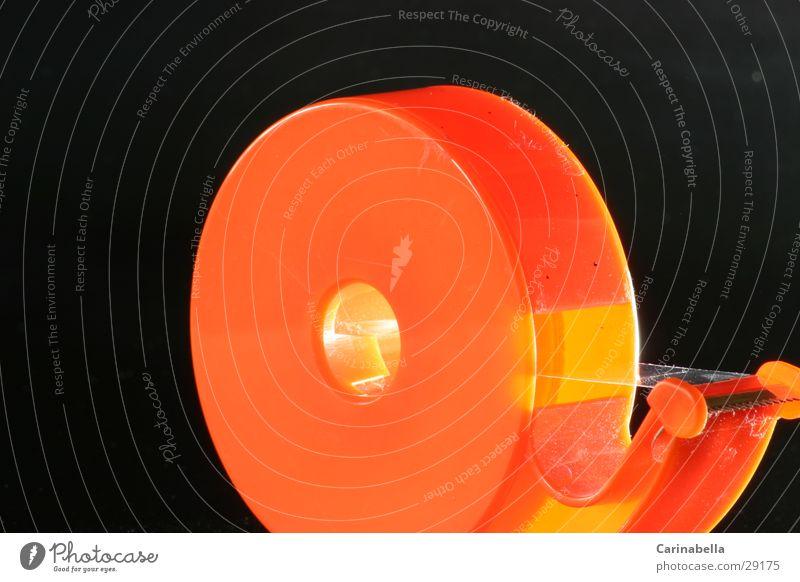 Glue roll II Adhesive tape Round glue roller Statue Orange