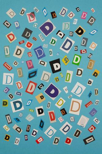 #A# DMIX Art Esthetic Letters (alphabet) Alphabet soup Many Typography Creativity Idea Fashioned Colour photo Multicoloured Interior shot Studio shot Close-up