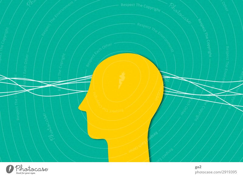 perception Human being Head 1 Line Esthetic Yellow Green Emotions Attentive Watchfulness Stress Healthy Contentment Identity Uniqueness Inspiration Senses