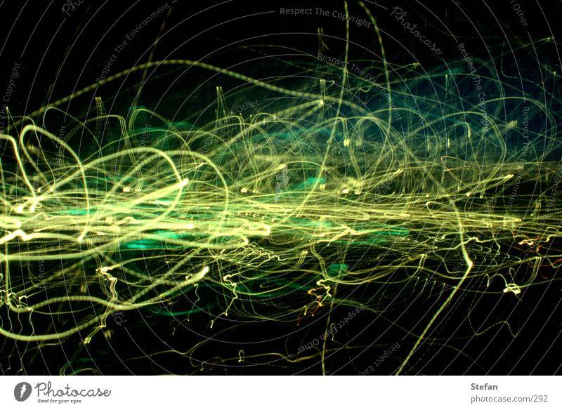 Lightwave # gamma Long exposure Stripe Style Night Lamp Crazy Tracks Cool (slang) waves longtime lights Blur Irritation