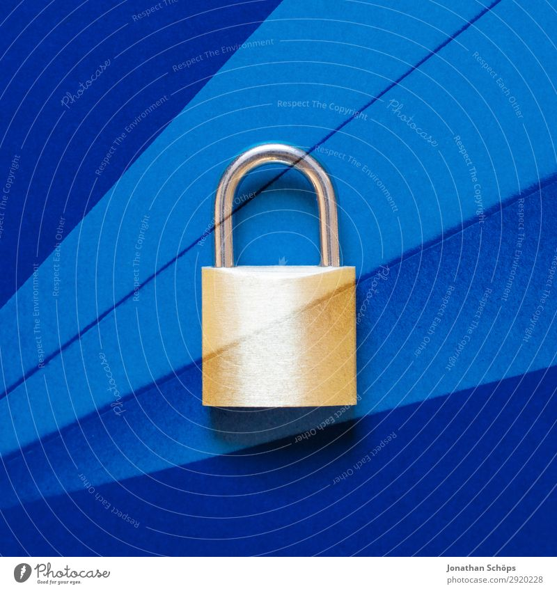 Lock as symbol for data protection Double exposure with paper Data protection Data storage Data transfer DSGVO Encrypted Europe Laws and Regulations Password