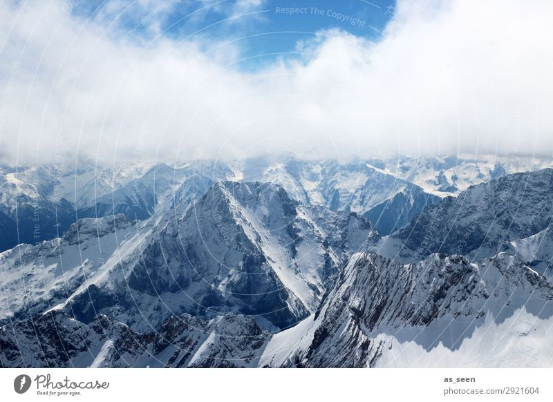 above the clouds Vacation & Travel Sun Snow Winter vacation Mountain Environment Nature Landscape Elements Sky Clouds Spring Climate Weather Beautiful weather