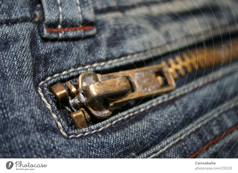 Jeans Obscure Zipper Washed out