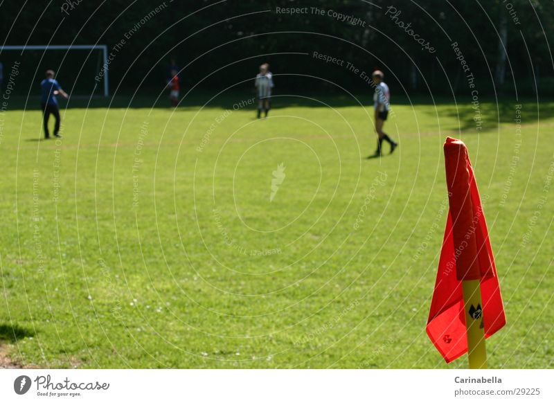 Sports Soccer Corner Flag Football pitch