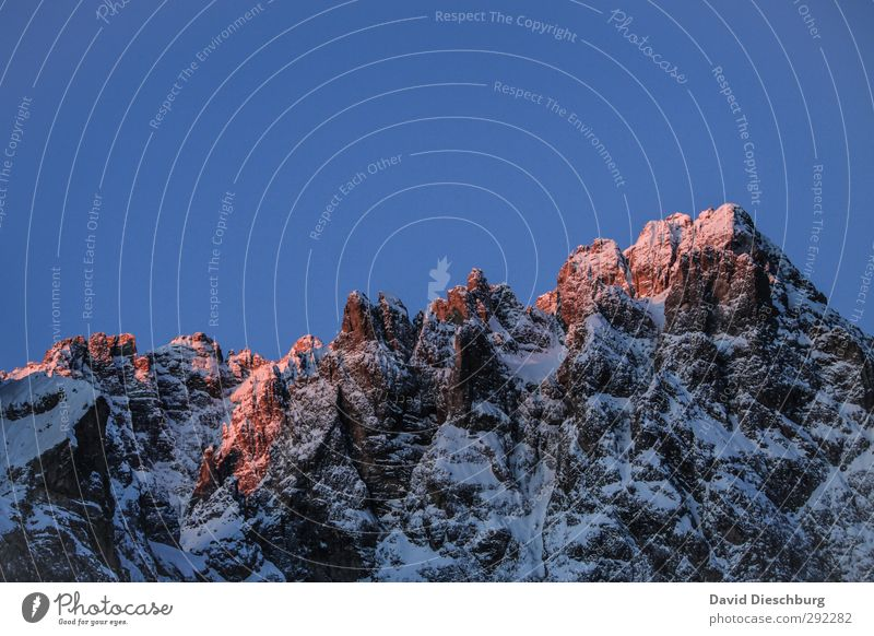 Nature Blue White Red Winter Landscape Black Mountain Cold Snow Stone Rock Ice Orange Hiking Beautiful weather