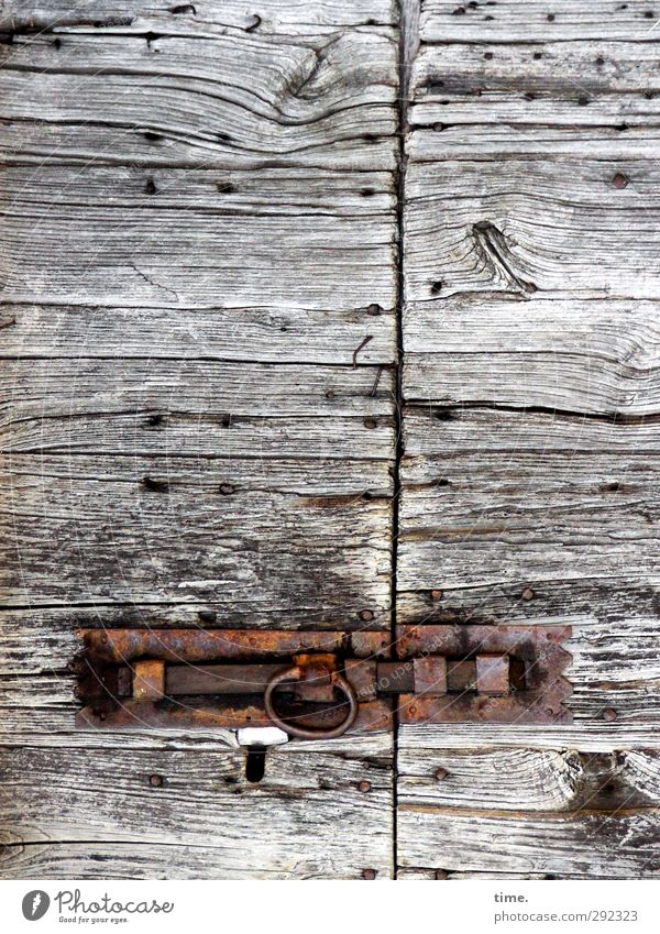 Old Wood Time Metal Door Authentic Safety Change Transience Protection Historic Past Decline Passion Rust Craft (trade)
