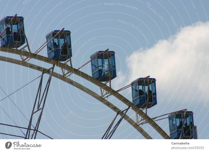 Ferris wheel 2 Clouds Leisure and hobbies Sky