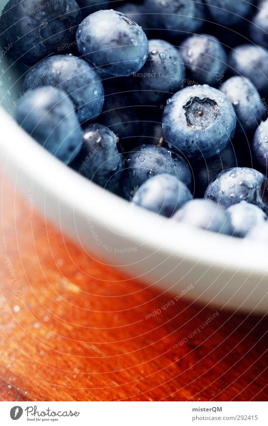 Appetite. Art Esthetic Blueberry Bowl Dessert Breakfast Delicious Essen Food Healthy Healthy Eating Berries Picked Vitamin Vegetarian diet Colour photo