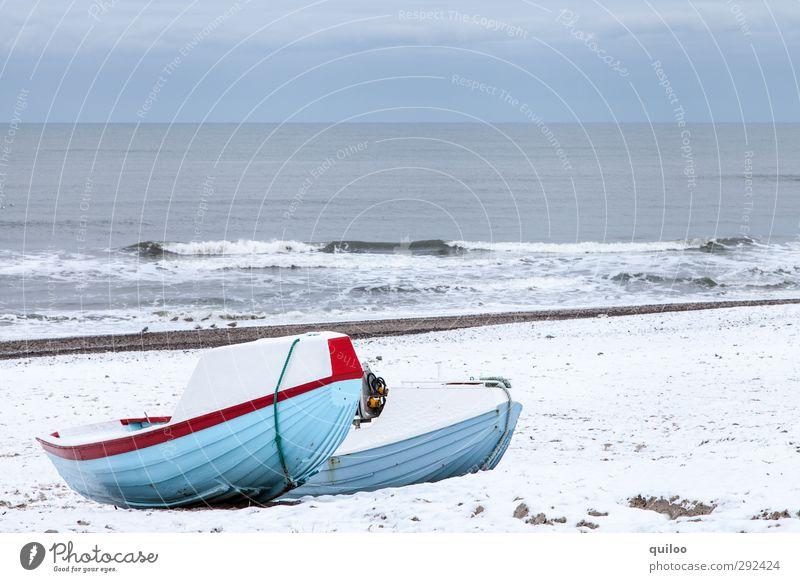 Sky Blue Vacation & Travel Water White Ocean Landscape Calm Beach Gray Coast Lie Waves Arrangement Wait Serene