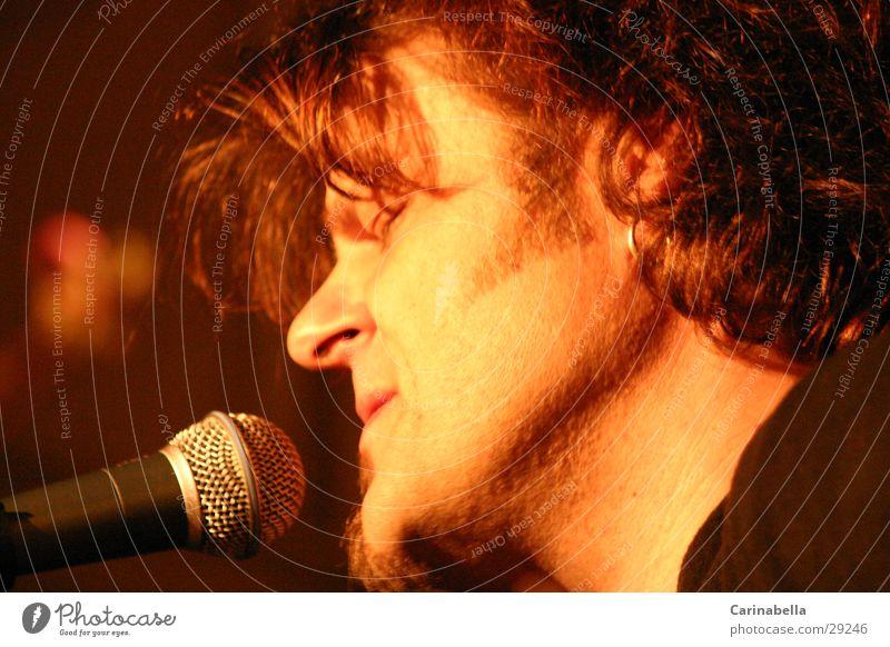 Büne Huber Portrait photograph Ballad Rock music Concert Music solo concert