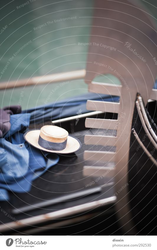 Wherever I Lay My Hat Vacation & Travel Tourism Trip Sightseeing City trip Gondolier Venice Italy Town Port City Transport Means of transport Passenger traffic