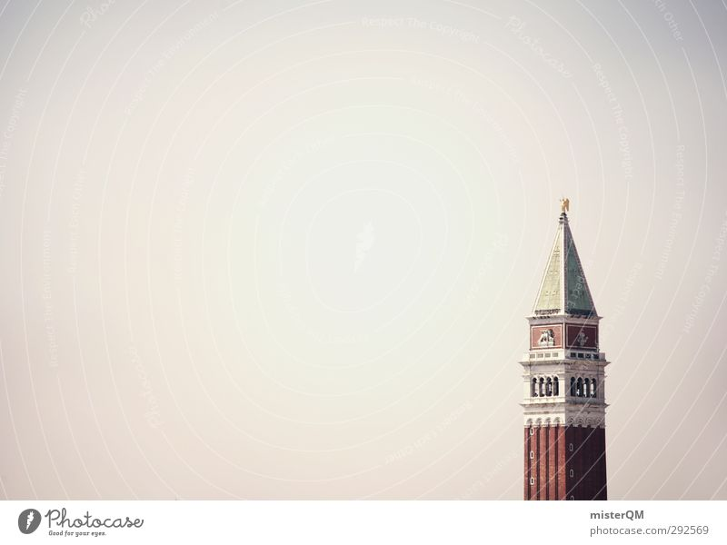 I Art Work of art Esthetic Architecture Tower Venice Campanile San Marco Basilica San Marco Travel photography Vacation & Travel Tourism Landmark Wanderlust