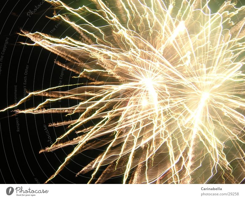 Lighting Blaze New Year's Eve Night sky Firecracker Photographic technology