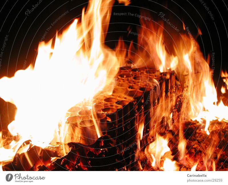 fiery Burn Nocturnal fire Obscure Blaze Iron-pipe