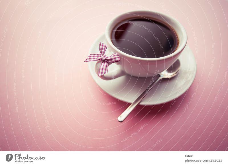 Calm Relaxation Love Feminine Style Pink Food Design Lifestyle Decoration Beverage Cute Break To enjoy Coffee Friendliness