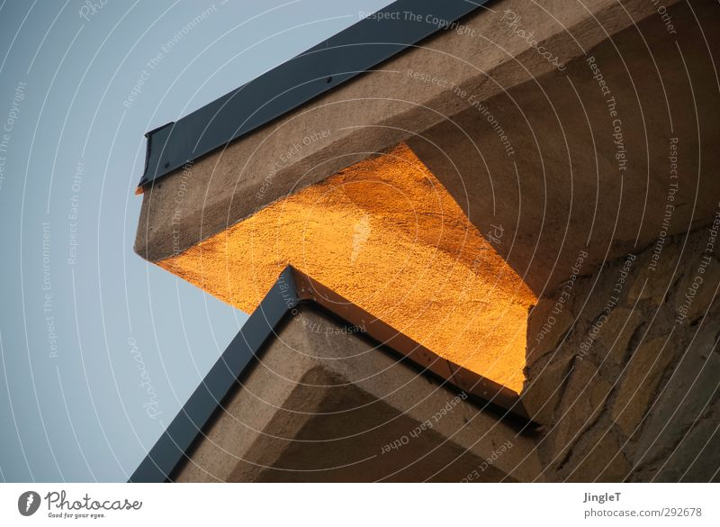 golden section House (Residential Structure) Detached house Building Architecture Vacation home Facade Roof verge Gable monopitch roof overhang Natural Warmth
