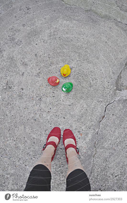 Woman Joy Street Legs Funny Swimming & Bathing Multiple Stand Cute Asphalt Toys Whimsical Strange Lady Date High heels