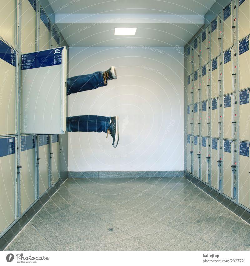Human being Legs Feet Lie Door Masculine Wait Train station Sneakers Corpse Cupboard Trunk Murder Sacrifice Crime scene