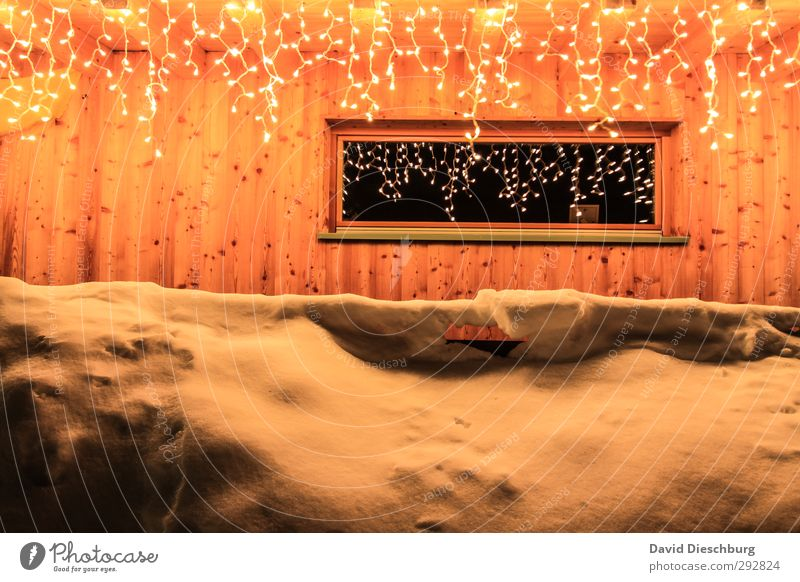 Brilliant outlook Wellness Spa Sauna Steam bath Vacation & Travel Winter Snow Winter vacation Ice Frost Alps Mountain House (Residential Structure) Hut