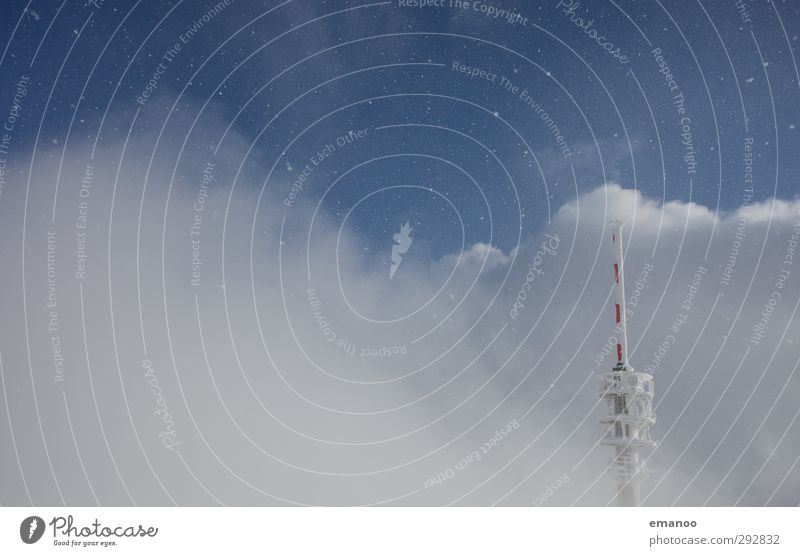 Sky Nature Landscape Clouds Snow Snowfall Air Ice Weather Wind Climate Tall Future Telecommunications Technology Tower