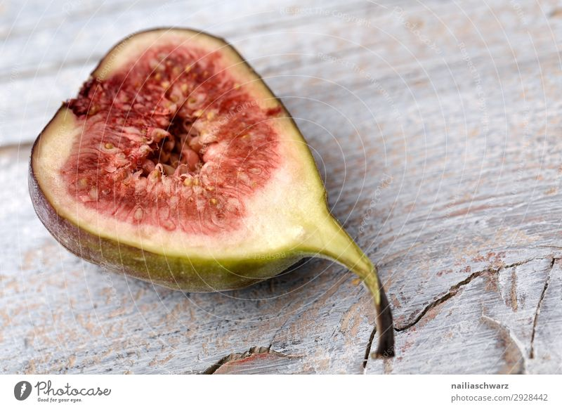 fresh fig Food Fruit Fig Nutrition Organic produce Vegetarian diet Diet Lifestyle Healthy Eating Wood Fragrance Fresh Delicious Natural Juicy Sweet Gray Green