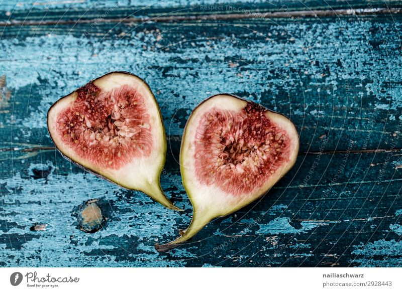 figs Food Fruit Fig Nutrition Organic produce Vegetarian diet Healthy Health care Snowboard Wood Delicious Natural Juicy Beautiful Sweet Blue Red Turquoise