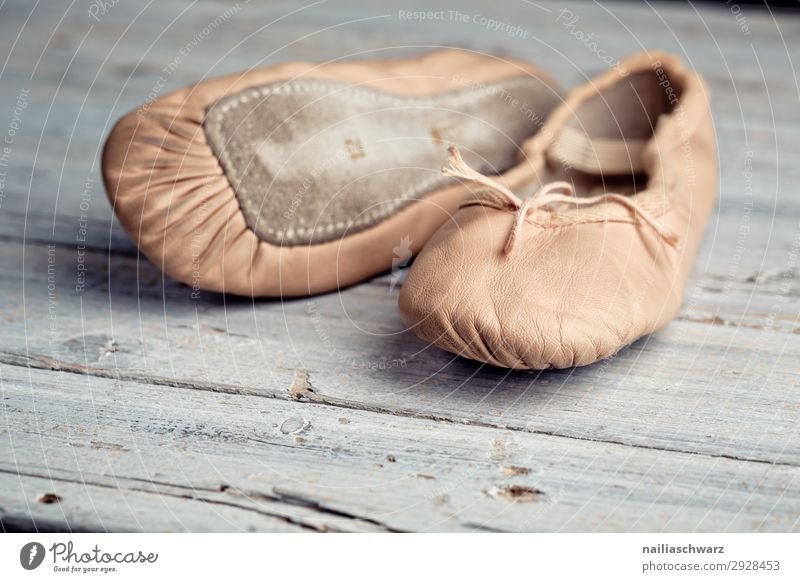 ballet shoes Fitness Sports Training Dance Dance event Ballet Clothing Footwear Ballet shoe Dancing school lap Wood Retro Movement Leisure and hobbies