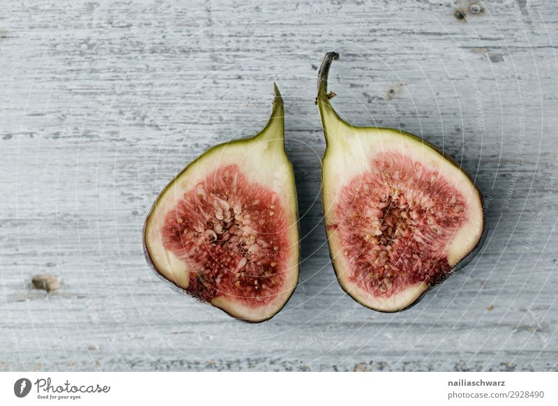 figs Food Fruit Fig Nutrition Organic produce Vegetarian diet Lifestyle Healthy Eating Wood Fragrance Exotic Delicious Natural Juicy Beautiful Sweet Gray Pink