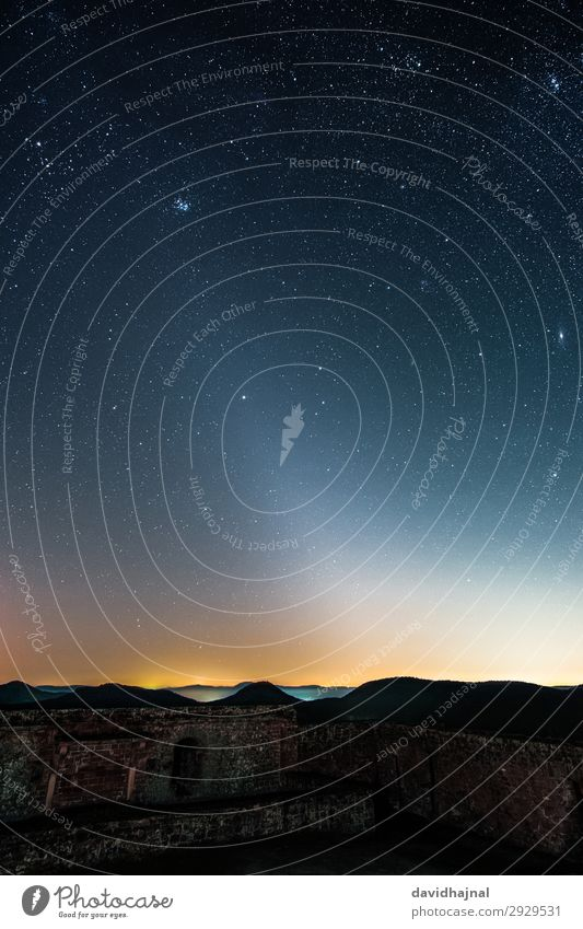 Zodiacal light over Palatinate Forest Vacation & Travel Tourism Sightseeing Technology Science & Research Advancement Future Astronomy Art Environment Nature