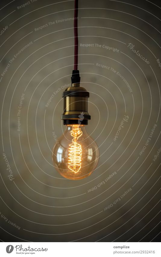 Vintage bulb in front of patina wall Lifestyle Living or residing Flat (apartment) House building Redecorate Moving (to change residence) Arrange