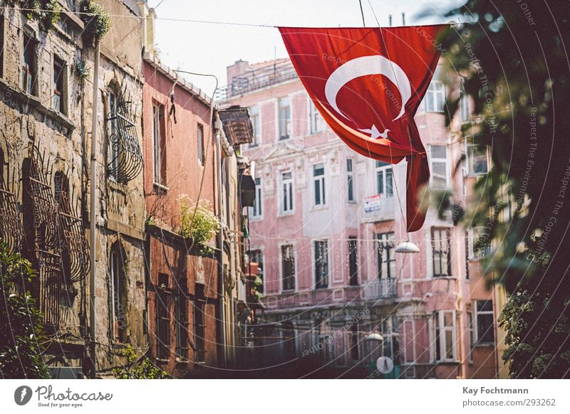 ° Vacation & Travel Tourism Far-off places Sightseeing City trip Summer vacation Istanbul Turkey Europe Asia Town Port City Downtown Old town