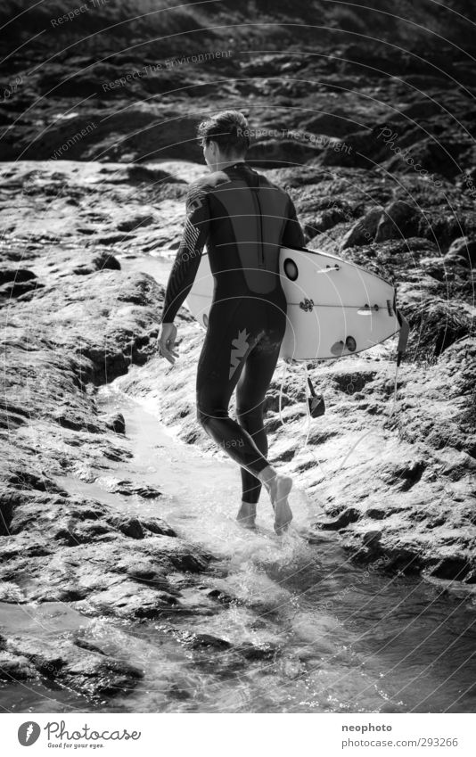 Let's go to the spring. Lifestyle Leisure and hobbies Vacation & Travel Adventure Ocean Waves Sports Aquatics Surfing Surfboard Human being Masculine Man Adults