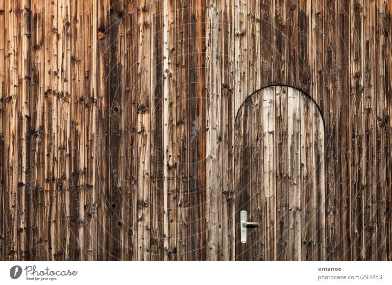 Gate door 2 Tree House (Residential Structure) Hut Building Wall (barrier) Wall (building) Facade Door Wood Old Brown Weathered Wooden board Wooden wall