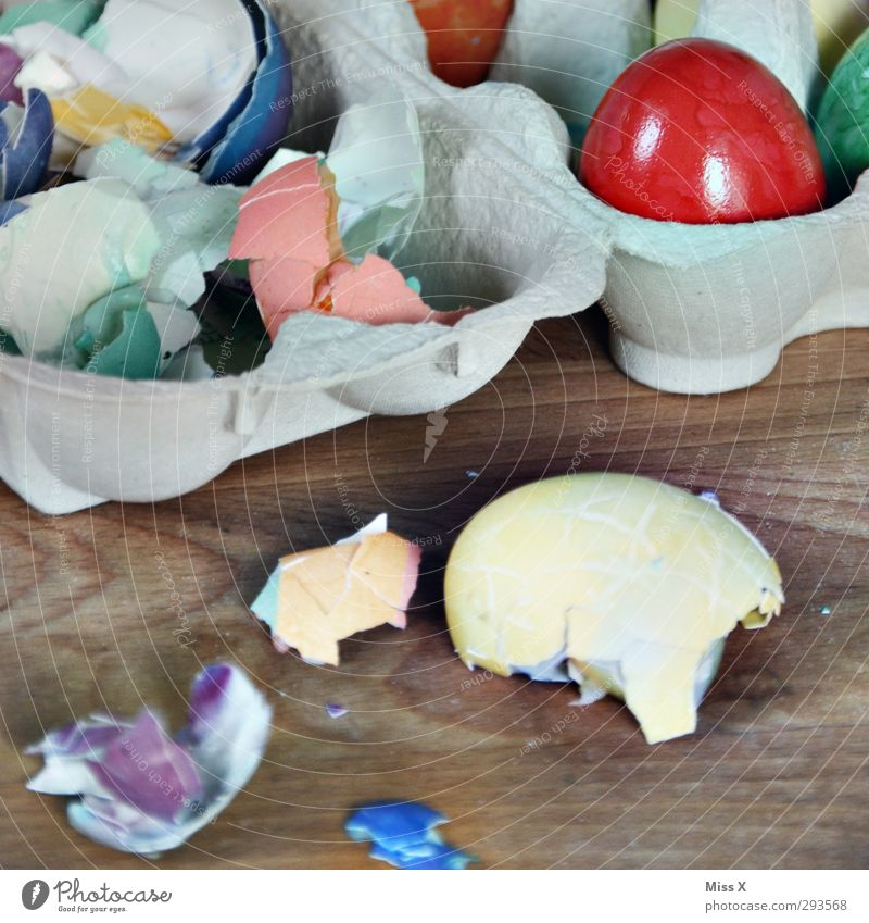 eggs Food Nutrition Breakfast Dinner Organic produce Easter Broken Delicious Multicoloured Easter egg Eggshell Hen's egg Colour Food photograph Eggs cardboard