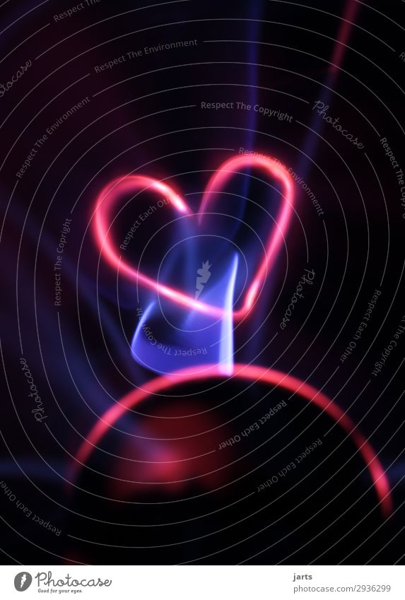power III Technology Science & Research Advancement Future High-tech Energy industry Glass Heart Sphere Illuminate Exceptional Hot Blue Red Love Plasma globe