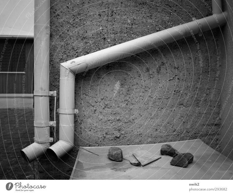 Wall (building) Wall (barrier) Stone Metal Concrete Technology Corner Tilt Firm Long Watchfulness Material Diagonal Hang Sharp-edged Rough