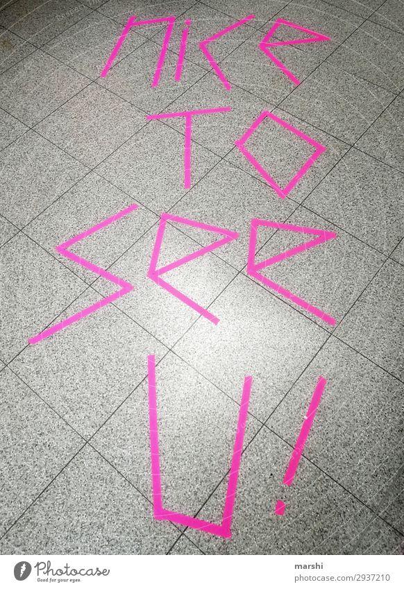 Pink Symbols and metaphors Meeting Tile Word Neon Date English Reunion