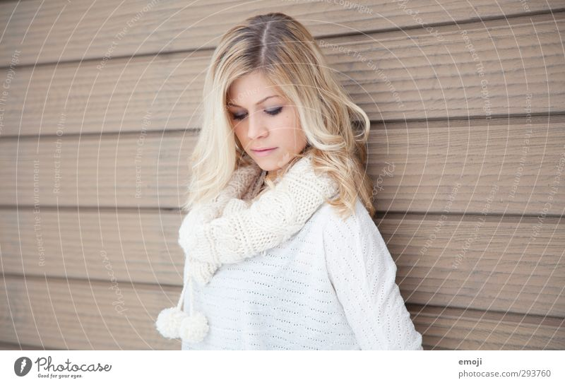 . Feminine Young woman Youth (Young adults) 1 Human being 18 - 30 years Adults Blonde Beautiful Colour photo Subdued colour Exterior shot Copy Space left