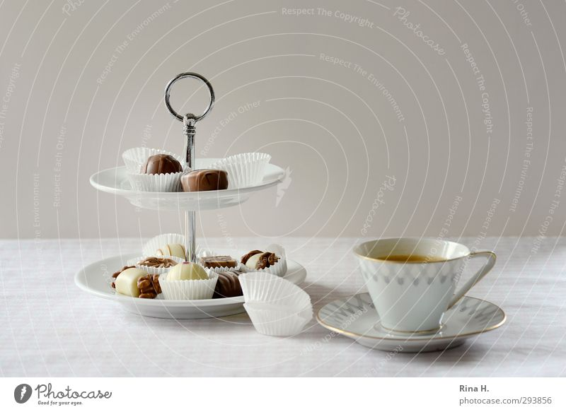 Bright Nutrition Sweet Break To enjoy Coffee Delicious Candy Crockery Cup Chocolate Tablecloth Espresso Confectionary Calorie Hot drink